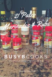 21 Paleo Marinades and Rubs