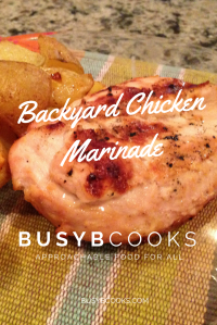 Backyard Chicken Marinade