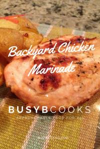Backyard Chicken Marinade