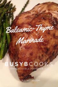 Balsamic Thyme Marinade