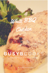 White BBQ Chicken